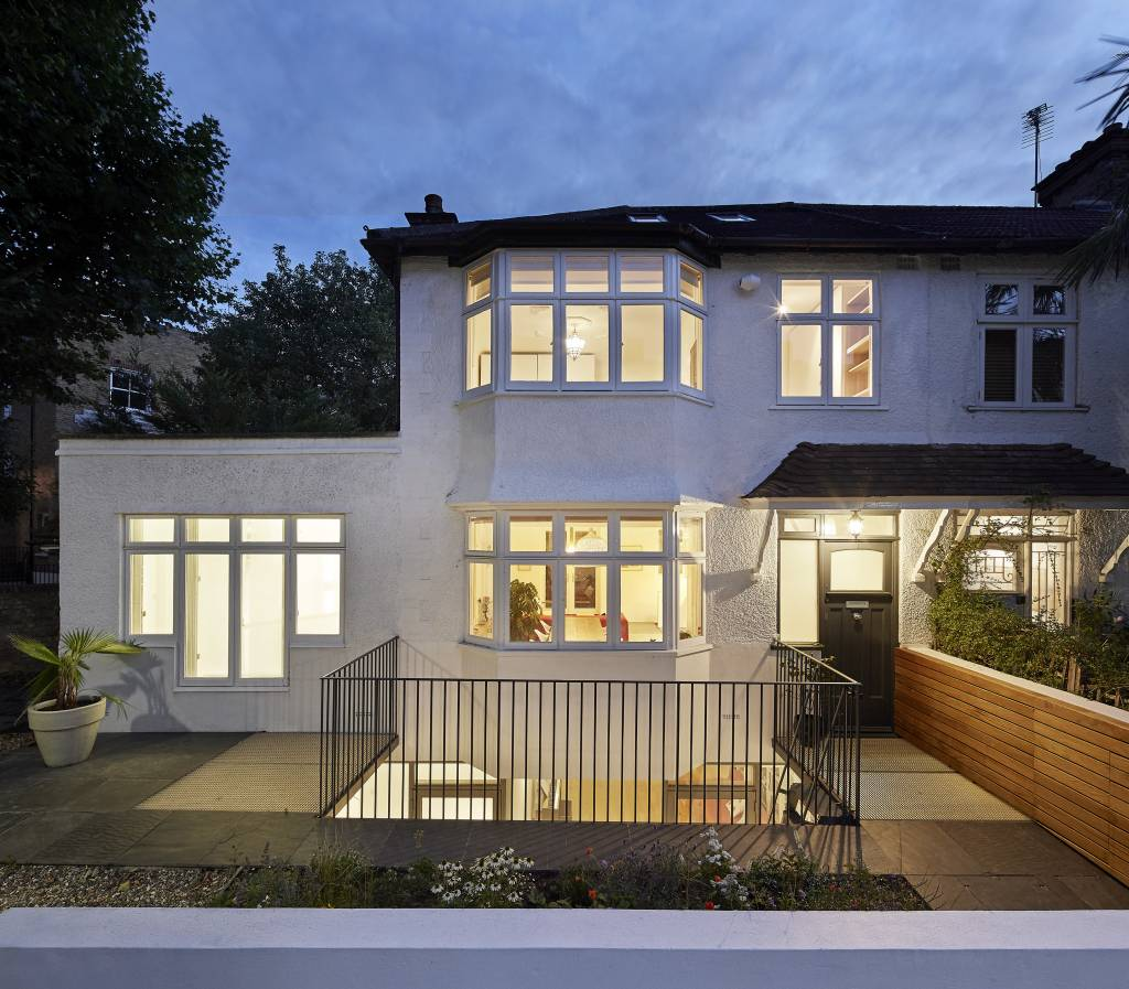 Hover House, a 1930's house in West London