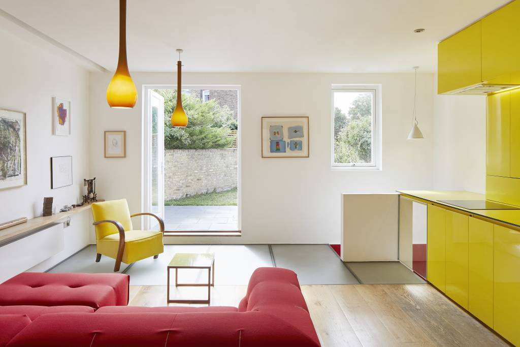 Hover House, a house in West London with the new reception rooms