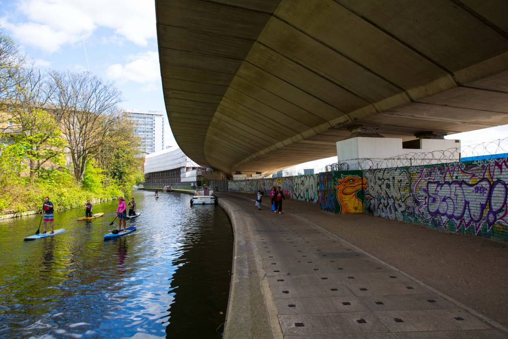 canal, towpath, canal and river trust